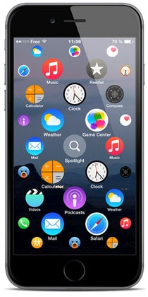 cai theme apple watch lên iphone 6