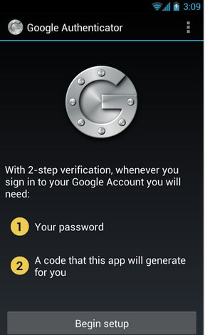 bao mat tai khoan google tren android