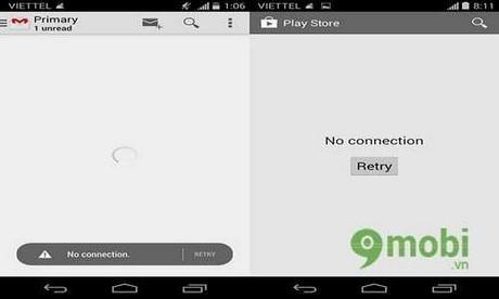 """CH Play bị dính lỗi """"không có kết nối"""", làm sao khắc phục - www.TAICHINH2A.COM"""