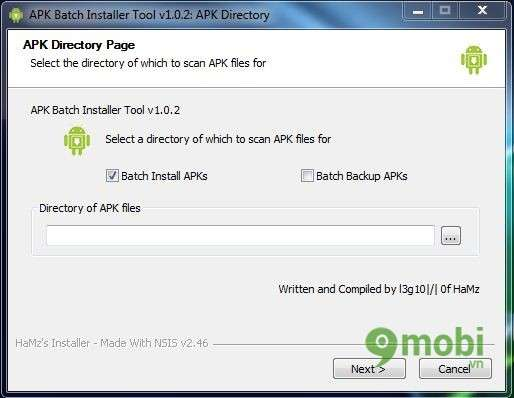 apk Files instruction from PC