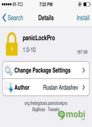 Blocking unauthorized access applications on iPhone iOS 6 plus, 6