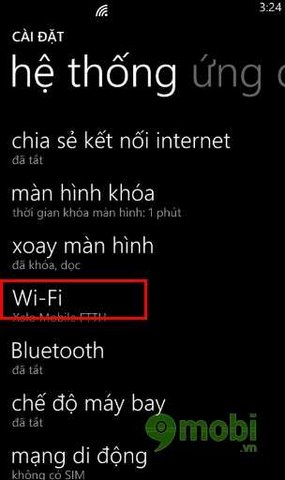 Keep your wireless connection when the screen lock on WinPhone