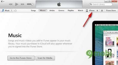 Sao lưu dữ liệu iPhone, backup video, hình ảnh iPhone qua iTunes
