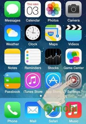 kich hoat ban phim emoji tren ipad, iphone 6 plus, 6, ip 5s, 5, 4s, 4