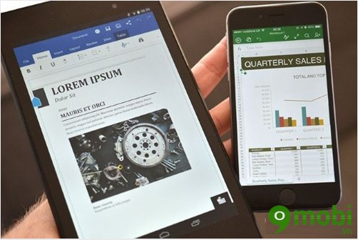 trải nghiệm Microsoft Office Android