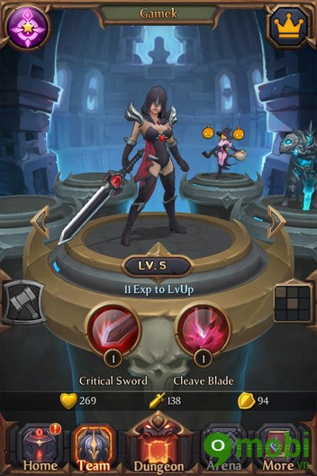 tải Game Dynasty of Dungeons cho iOS