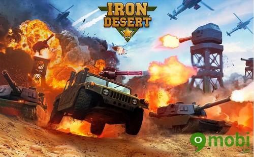 tải game Iron Desert miễn phí cho iphone 6 plus, 6, ip 5s, 5, 4s, 4