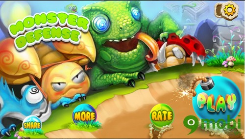 tải game Monster Defense cho Android
