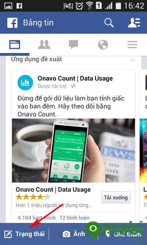 tải video lên facebook