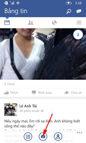 đăng video lên facebook bằng Lumia