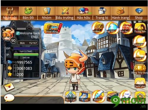 tải game thần thú mobile cho iPhone