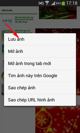 hinh nen giang sinh cho android