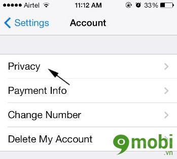 chặn sms WhatsApp trên iPhone 6