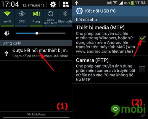 cách lấy ảnh chụp từ máy Android