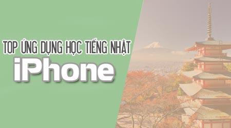 top 10 ung dung hoc tieng nhat hay nhat tren iphone