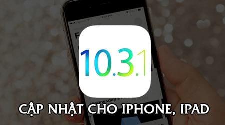cach cap nhat ios 10 3 1 cho iphone ipad bang itunes ota