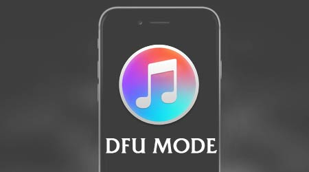 cach dua iphone 7 7 plus ve che do dfu de restore iphone