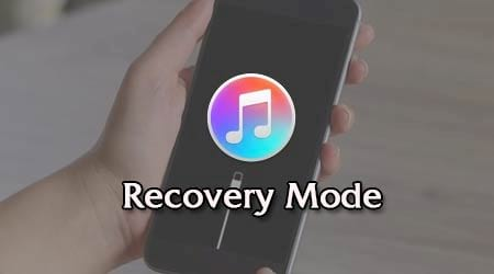 cach dua iphone ipad ve che do recovery mode de restore iphone