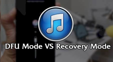 dfu mode va recovery mode tren iphone 2 che do nay co gi giong va khac nhau