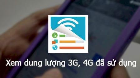 Kết quả hình ảnh cho quản lý dung lượng 3G và 4G