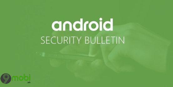 ban cap nhat bao mat android thang 11 va lo hong rce