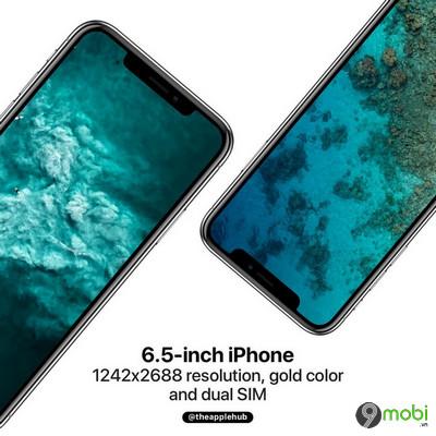 iphone x plus moi cua apple ho tro 2 sim