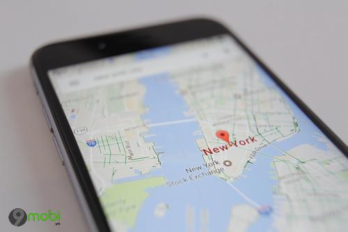 google maps su dung moc de chi duong cho nguoi dung