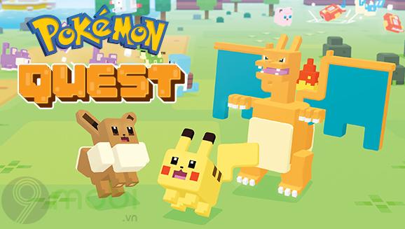 pokemon quest cho nen tang di dong chinh thuc phat hanh