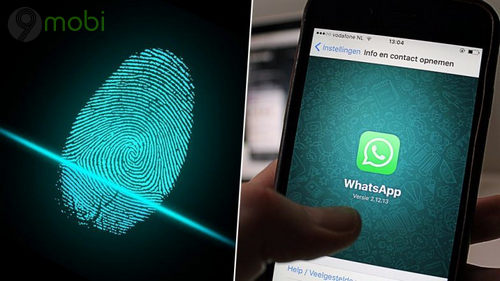 whatsapp cho android thu nghiem xac thuc van tay