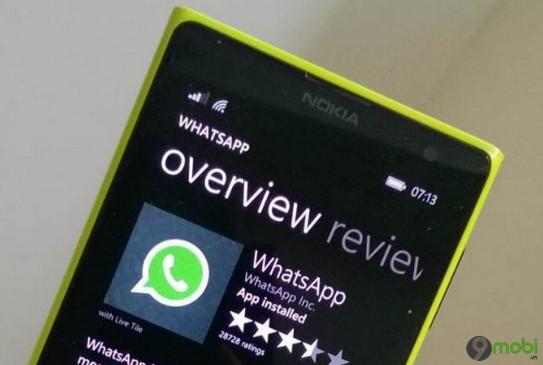 whatsapp cho windows phone se ngung hoat dong ngay 31 12