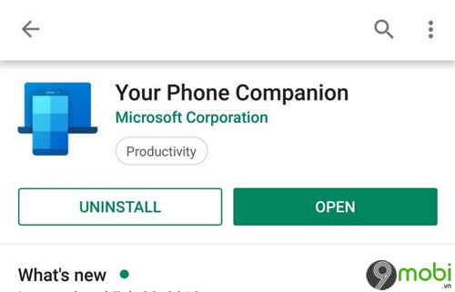 ban cap nhat your phone companion bo sung bieu tuong moi