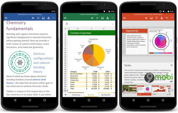 microsoft ngung ho tro office tren cac phien ban android cu