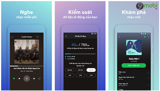 spotify lite hien co san cho nguoi dung android o viet nam