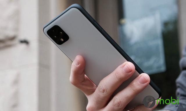 google thu nghiem cu chi cham hai lan moi o mat sau cua dien thoai pixel chay android 11