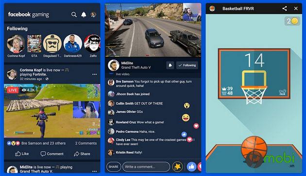 facebook ra mat ung dung choi game facebook gaming vao ngay hom nay