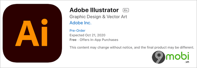 adobe illustrator cho ipad hien da co mat duoi dang pre order tren app store