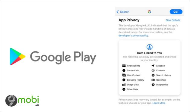 google play se them phan safety moi cho biet cach cac ung dung su dung du lieu cua nguoi dung