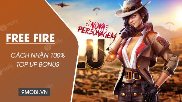 cach nhan 100 top uo bonus trong free fire
