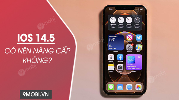 co nen nang cap ios 14 5 khong