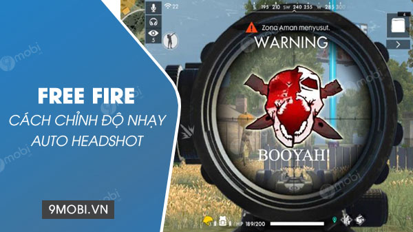 cach chinh do nhay auto headshot trong free fire