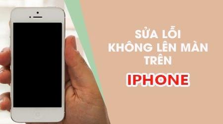 Nguyên nhân iPhone tự nhiên không lên màn hình và cách khắc phục