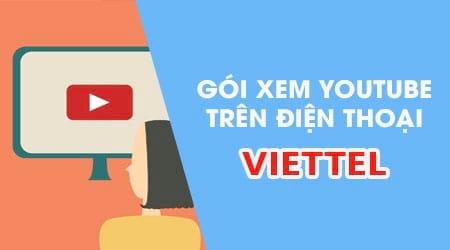 dang ky goi xem youtube cua viettel tren dien thoai