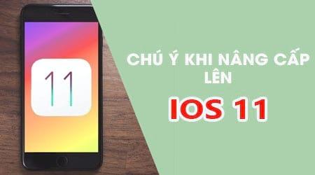 truoc khi nang cap len ios 11 cho iphone ipad can chu y nhung dieu sau