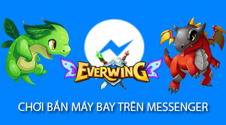cach choi game ban may bay tren facebook messenger