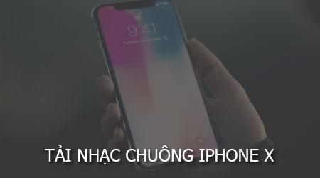 tai nhac chuong iphone x chinh thuc