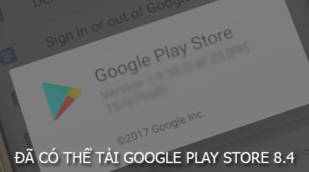 da co the tai google play store 8 4