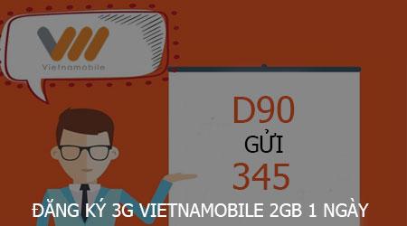 dang ky 3g vietnamobile 2gb 1 ngay