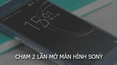 cham 2 lan mo man hinh sony
