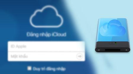 cach backup icloud iphone ipad