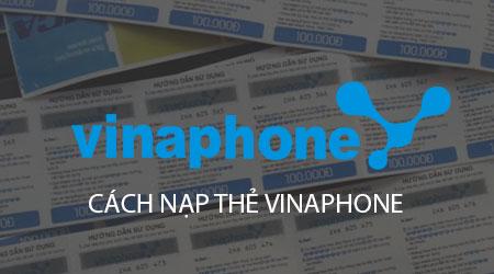 cach nap the vinaphone nap tien vinaphone